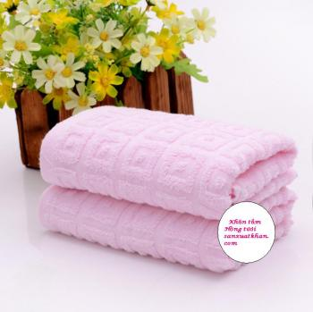 Bộ khăn tắm kẻ ô